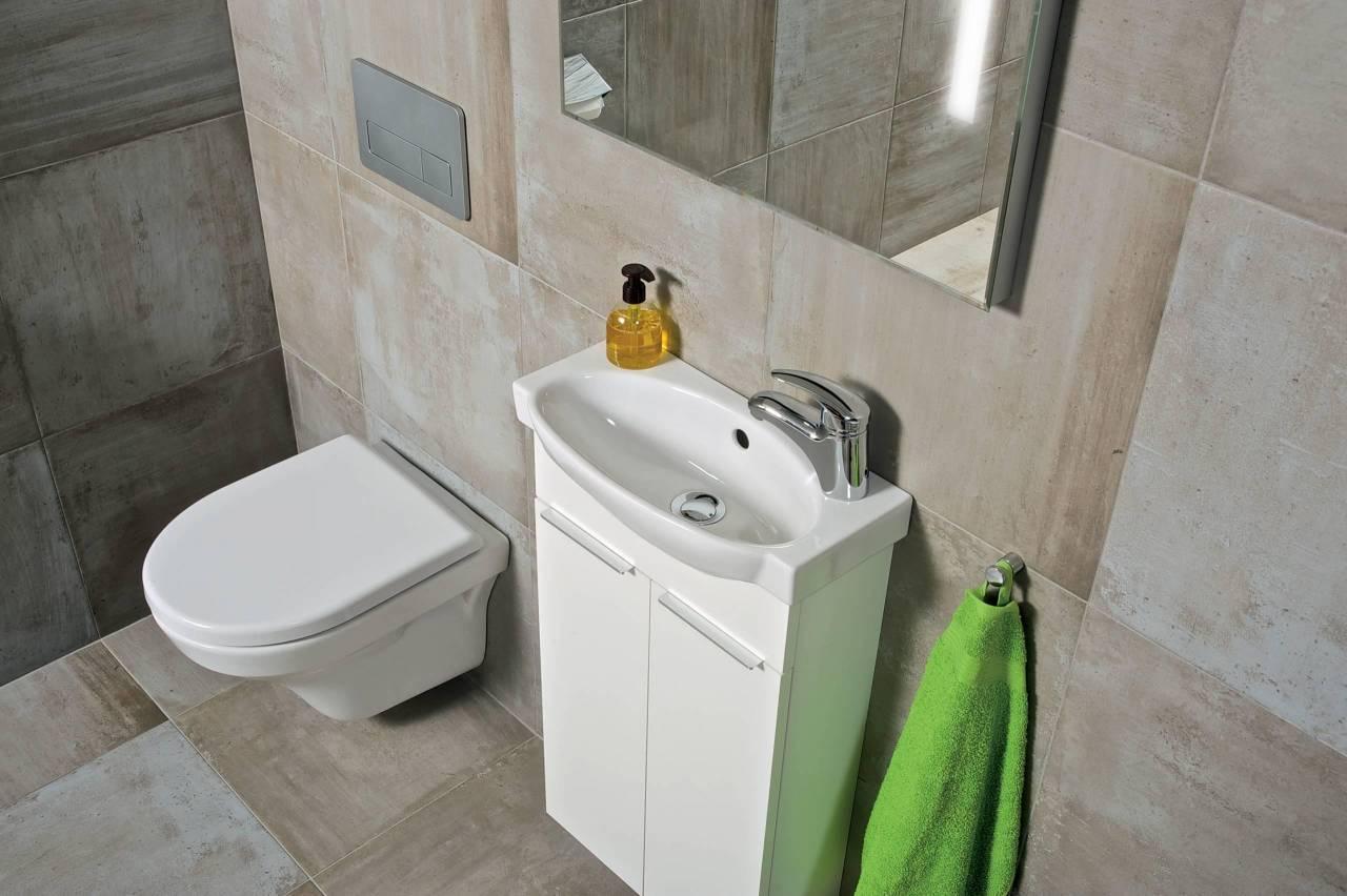 JIKA, tigo, koupelnový nábytek, skříňka pod umyvadlo, bílá