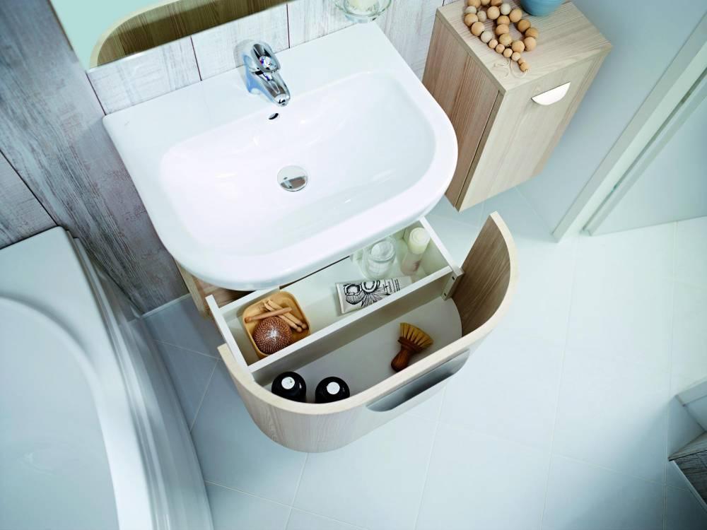 jika, deep by jika, koupelnový nábytek, skříňka pod umyvadlo, skříňka, úložný prostor
