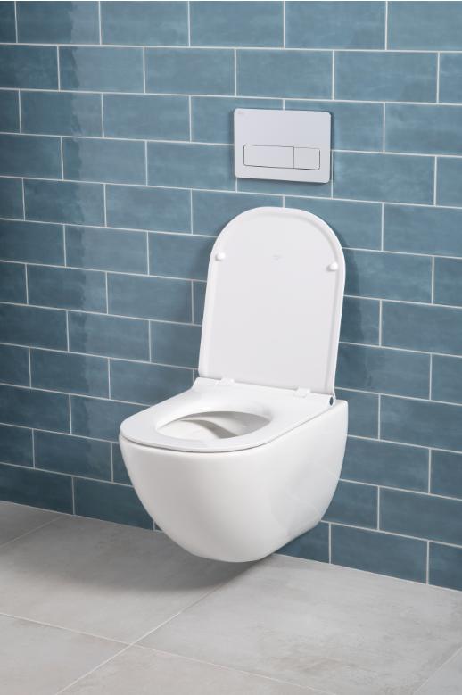 JIKA, klozet, WC, rimless, mio