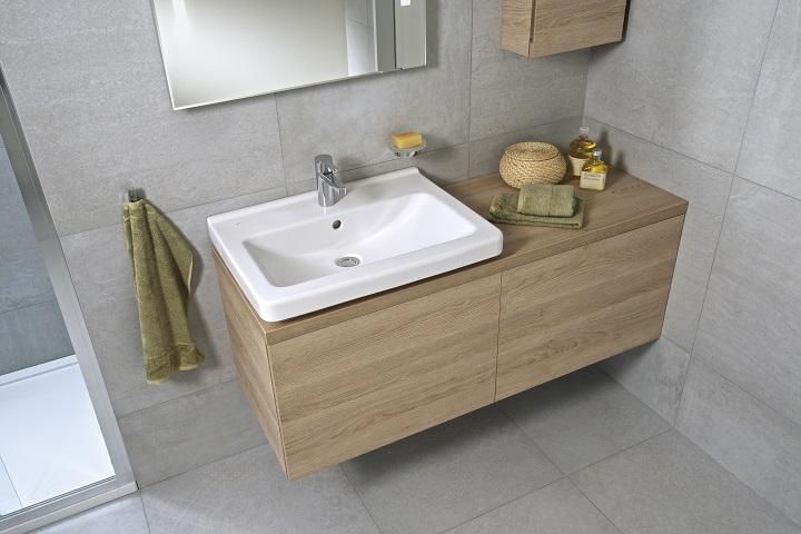 Přímočará geometrie ve vaší koupelně