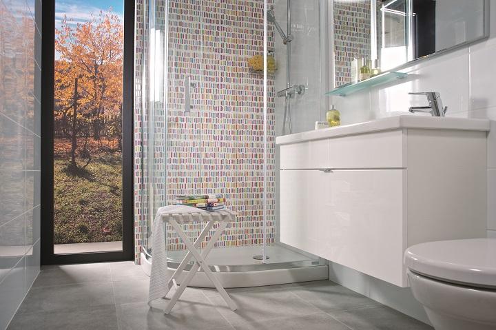 Tigo Bathroom series by JIKA, a singular solution for small and not so small Bathrooms