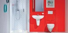 Podomítkové systémy zkrášlí koupelnu